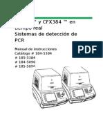 CFX96 ™ y CFX384 ™ en tiempo real