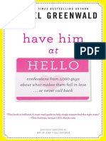 Have Him at Hello by Rachel Greenwald - Excerpt