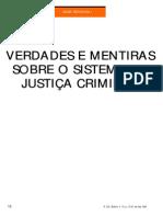 Verdades e Mentiras Justiça Criminal