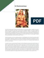The Mystery of Sri Shankaracharya