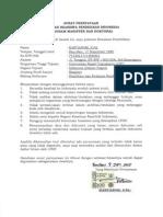 870440-Surat Pernyataan Bebas Beasiswa Lain