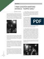 Duppio Grau [Concierto Para Saxofón Baritono & Banda Sinfonica]