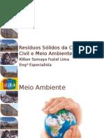 Resíduos Sólidos Da Construção Civil e Meio Ambiente