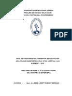Informe de Tesis 2015