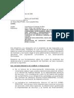 Carta Respuesta a CARTA No 1030 Del 07 de Noviembre 2008 Que Observa Nuestra Liquidaci%C3%B3n[1]