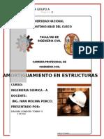 ING SISMICA GRUPO - A (Amortiguamiento en Estructuras)