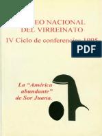 VV. AA., La América abundante de Sor Juana