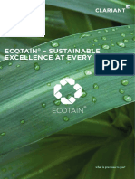CLARIANT EcoTain Brochure
