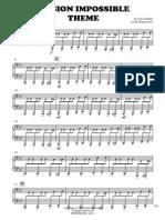 Mission Impossible JKLXL - Piano