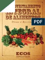 Cartilha Aproveitamento Integral de Alimentos