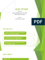Slide Typhoid Fever