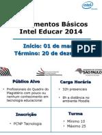 Fundamentos Básicos - Intel Educar 2014