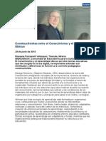 Diferencias Constructivistas Entre El Conectivismo y El Aprendizaje Ubicuo