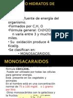 GLÙCIDOS O HIDRATOS DE CARBONO.ppt