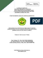 Pengembangan Sistem Fire Early Warning Terintegrasi Untuk   Agroekosistem Kelapa Sawit Berkelanjutan Di Lahan Gambut