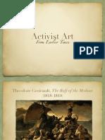 earlier activist art