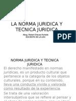NORMA JURIDICA Y TECNICA JURIDICA.ppt