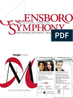 Greensboro Symphony 2015-16 Brochure
