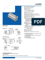 Globe Motor Spec Sheet