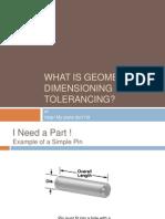 What is Geometric Dimensioning Tolerancing-Chris