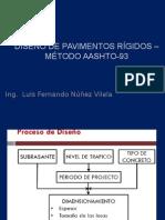 Diseño de Pavimentos Rígidos – Método Aashto-93