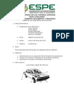 Informe Entrenador Final Autotronica