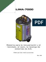 Manual Uso Clima7000