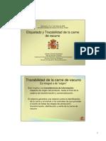 Etiquetado y Trazabilidad de Carne de Vacuno Diapositivas Ministerio Agricultura