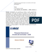 Pesquisa Nacional por Amostra de Domicílios – 2008