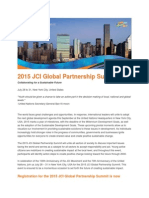 2015 JCI Global Partnership Summit