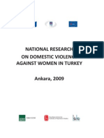Domestic Violence Against Women in Turkey