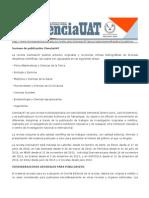 Normas de Publicación Revista Ciencia UAT