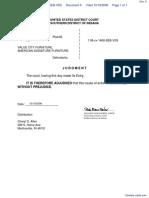 ALLEN v. VALUE CITY FURNITURE et al - Document No. 6