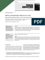 Belleza y psicopatología. Reporte de un caso.pdf