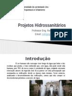 Projetos Hidrossanitários-Aula 01