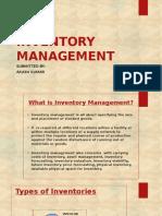 Invenory Management