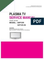 50py2r Lg Plasma Tv Mf-056b