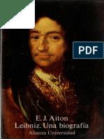 Aiton, E.J. - Leibniz. Una Biografia