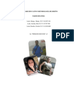 Software Educativo Metodología de Diseño