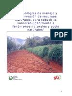 Tecnologias Manejo Conservacion Recursos Naturales