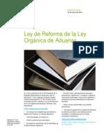Ley de Reforma de La LEY ORGÁNICA de ADUANAS_ Español