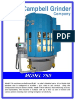 Model 750 machines