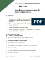 p1_introduccion Al Laboratorio electrotecnia