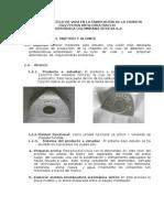 Análisis de Ciclo de Vida en La Fabricación de La Chapeta