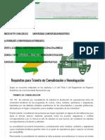 Requisitos Para Trámite de Convalidación y Homologación _ Universidad Nacional de Loja