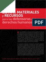 AWID Materiales Para Defensoras Es