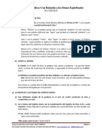 1 Principios Biblicos Con Relacion a Los Dones Del ES