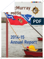2014-15 McMurray Métis Annual Report