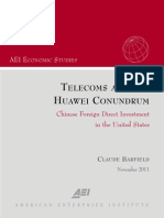 Telecoms and the Huawei Conundrum