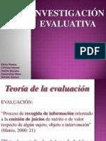 Investigación Evaluativa